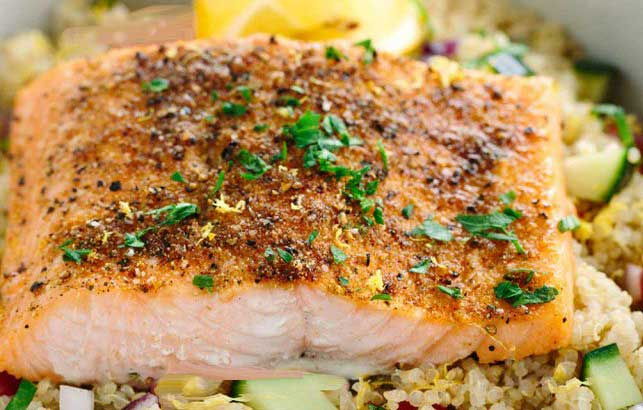 Lime Soy and Salmon recipe